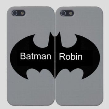 Batman & Robin Best Friend BFF Phone Cases - Set of Two Cases