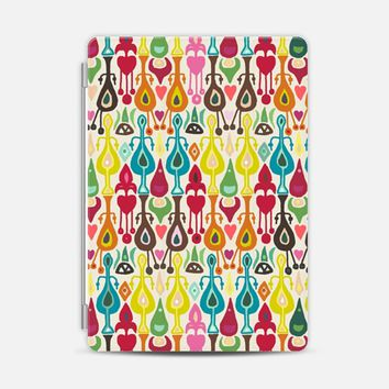 ivory love ikat iPad Air 2 cover by Sharon Turner   Casetify