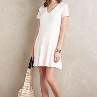 Ribbed Flare Dress