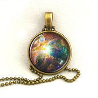 10% SALE Necklace Galaxy Chaos at the Heart of Orion Pendant Necklaces,Constellation,Gift For Her