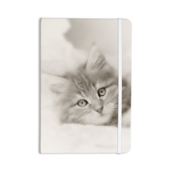 "Monika Strigel ""Main Coon Kitten"" Gray Cat Everything Notebook"