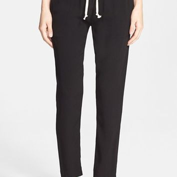 Women's Enza Costa 'Easy' Woven Pants,