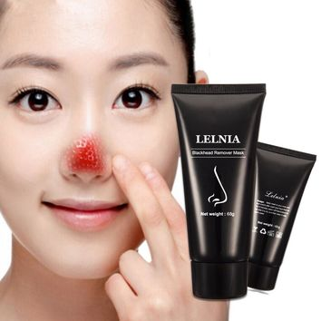 AFY suction Black mask deep cleansing conk nose face mask blackhead Pore anti acne and scars remover treatment Face Care 60g+8g