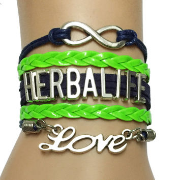 FREE Infinity Love Herbalife Charm Bracelet - Just Pay Shipping