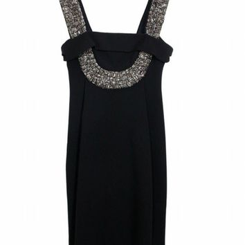Black Halo Abigail Sheath Dress