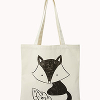 Quirky Raccoon Tote