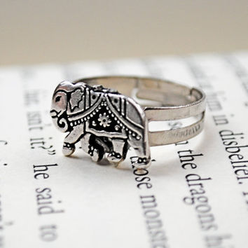 Elephant Ring by KellyStahley on Etsy