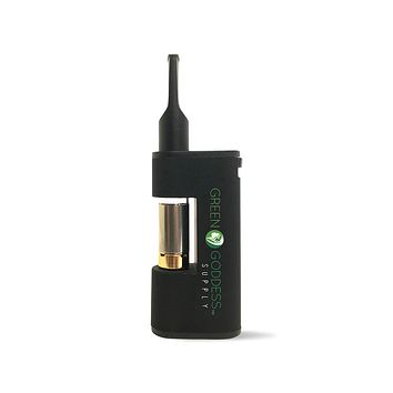 MiniVape - Compact, Discreet, State-of-the-Art Oil Vaporizer (Black)