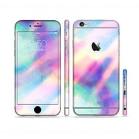 The Tie Dyed Bright Texture Sectioned Skin Series for the Apple iPhone 6s Plus