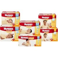 HUGGIES Little Snugglers Diapers Super Pack, (Choose Your Size) - Walmart.com