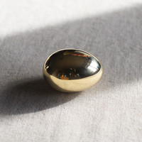 Paperweight Egg in Polished Brass by Carl Aubock - OEN Shop