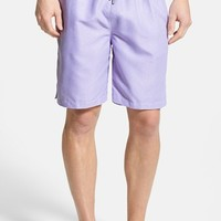Men's Peter Millar Houndstooth Swim Trunks
