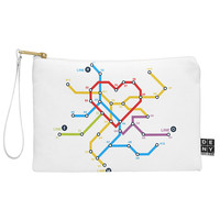Budi Kwan Heart Train Map Pouch