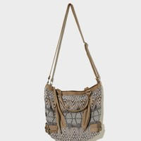 AEO Buckle Brocade Satchel | American Eagle Outfitters