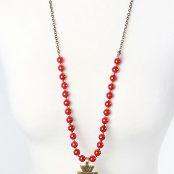 The Cameron Necklace - Red