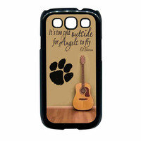 Ed Sheeran Guitar And Song Quotes Samsung Galaxy S3 Case