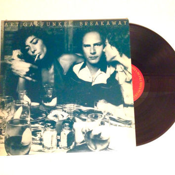 Vinyl Record Art Garfunkel Breakaway LP Album 1975 Rag Doll Disney Girls