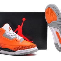 Air Jordan 3 Retro AJ3 318376-688 Men Basketball Shoes