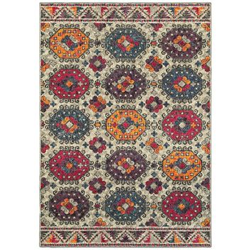 Area Rug by Oriental Weavers Bohemian Collection 405J5