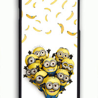 minion catch banana despicable me movie For iPhone 6/6S Case *