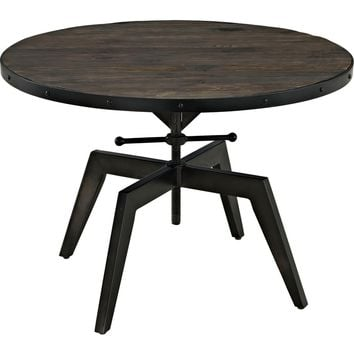 Grasp Wood Top Coffee Table Black