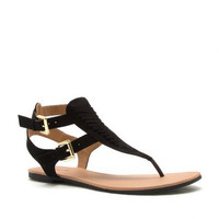 Black Archer Sandal