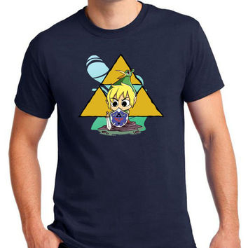The Legend Of Zelda Link Ezlo Hat Funny Parody Graphic Gaming T-Shirt