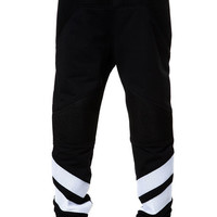 The Honey Comb Scuba 3M Jogger Pants in Black