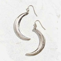 Moon Slice Drop Earring