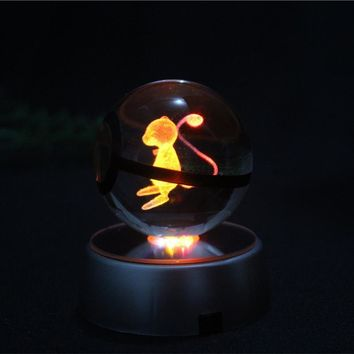 North Shore Outlet's Crystal Pokemon LED Night Light