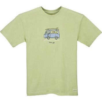 Life is good Men's Crusher Surf Van Go T-Shirt, X-Large, Sprout Green