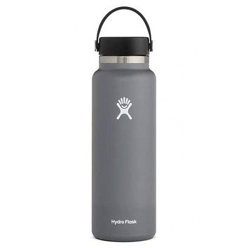 40 oz Wide Mouth Hydro Flask - Stone