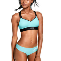 Ultimate Push-Up Strappy Sports Bra - PINK - Victoria's Secret