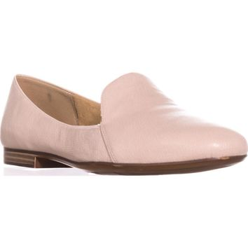 naturalizer Emiline Classic Slip On Loafers, Porcelain Leather, 7 W US