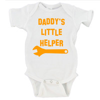 Daddy's Little Helper Gerber Onesuit ®