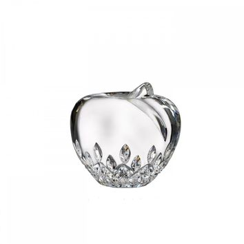 Waterford Apple Paperweight