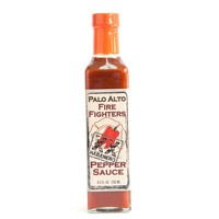 Palo Alto Firefighters Habanero Pepper Sauce