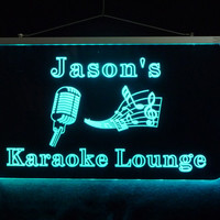 Karaoke Personalzied LED Sign *Design your own Sign - Music