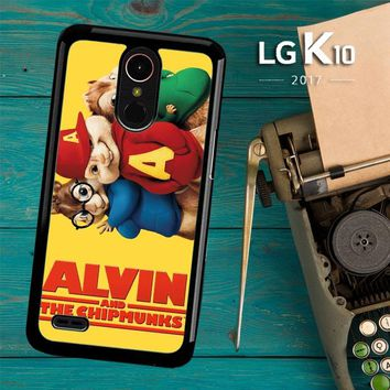 Alvin And The Chipmunks F0267 LG K10 2017 / LG K20 Plus / LG Harmony Case
