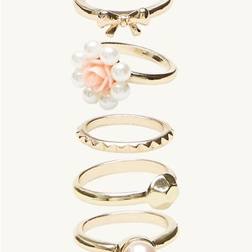 Pearly Stacking Rings