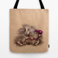 hairdresser Tote Bag by Gufo