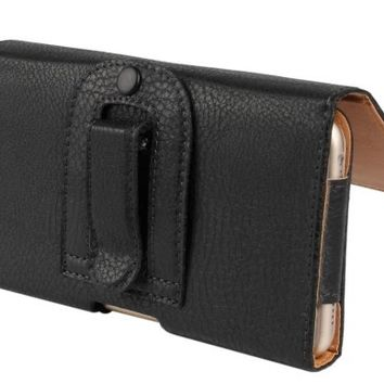 iPhone X Leather Holster & Belt Clip for Battery Cases