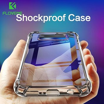 Shockproof Case for Samsung Galaxy S10 Plus S10e S8 S9 Plus Soft Silicone Phone Cases for Samsung Note 9 8 S7 Back Cover