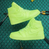Air Jordan 1 High Prm Barely Volt | Ah7389 700 Sneakers - Best Online Sale