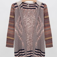 Gimmicks by BKE Hooded Cardigan Sweater