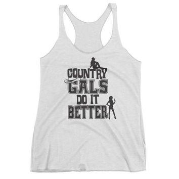"""Country Gals"" Women's tank top"