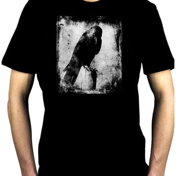 Evil Eye Raven Men's T-Shirt Alternative Clothing Black Crow Gothic
