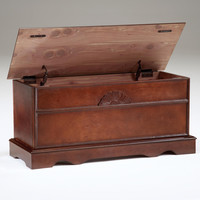 Cherry Cedar Lined Blanket Chest