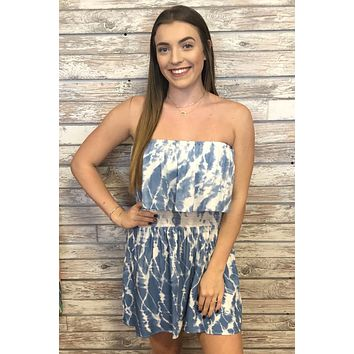 Sunny Days Dress- Blue