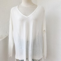 KYLIE SWEATER - IVORY